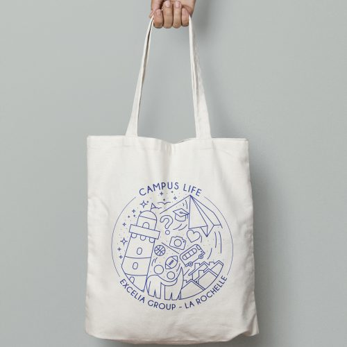 Tote bag campus life